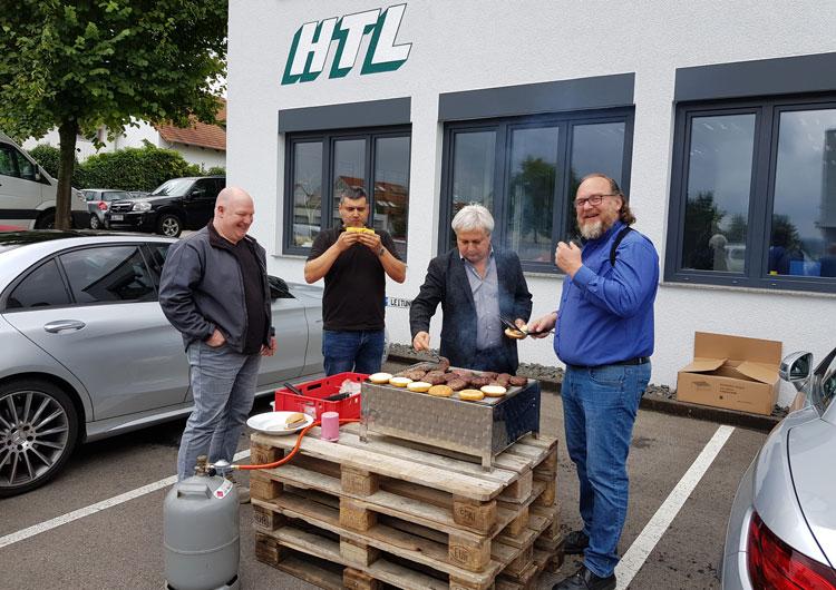 HTL Sommerfest - Nachgrillen