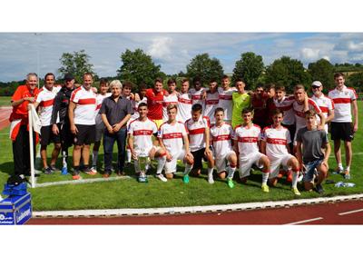 HTL-Cup 2017 - Siegermannschaft VfB Stuttgart U16